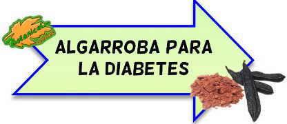 algarroba para la diabetes