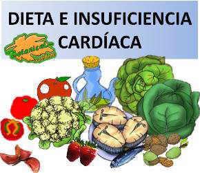 dieta alimentos recomendados para la insuficiencia cardiaca