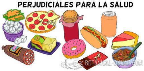 alimentos perjudiciales obesidad infantil productos alimentarios malos