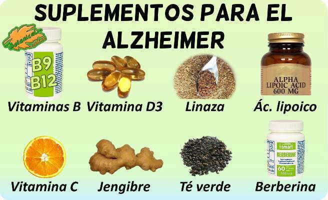 alzheimer suplementos tratamiento natural plantas medicinales remedios