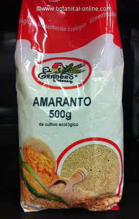 amaranto envasado