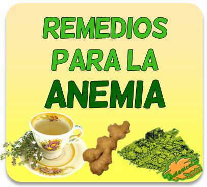 fitoterapia para la anemia