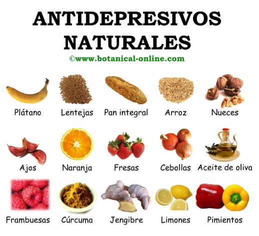 Antidepresivos naturales - Alimentos contra depresion ...