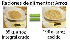 ración de cereal