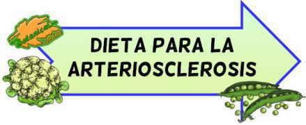 dieta arteriosclerosis
