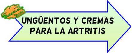 cremas artritis
