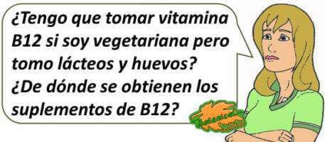 se tienen que tomar suplementos de vitamina b12 en vegetarianos y veganos?