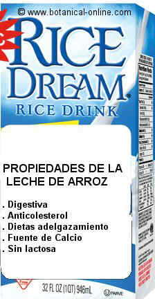 bebida de arroz