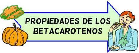 propiedades de los betacarotenos