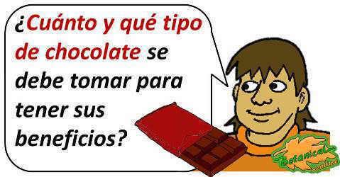 cantidad dosis de chocolate cacao
