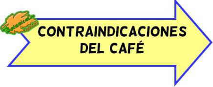 contraindicaciones del cafe