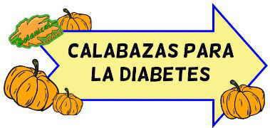 calabaza para la diabetes