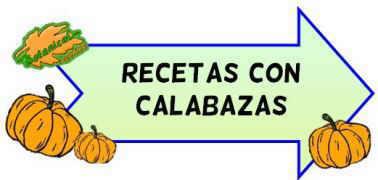 recetas calabaza