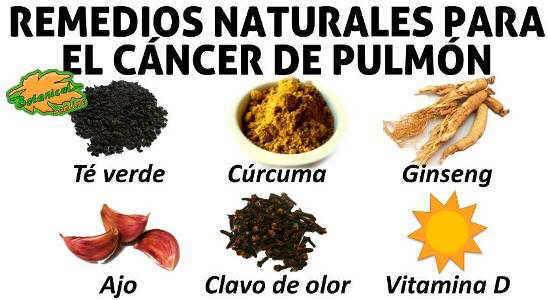 Remedios Para El Cáncer De Pulmón Botanical Online