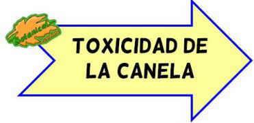 toxicidad de la canela