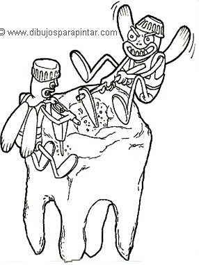 Caries en diente