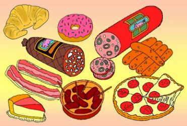 alimentos con grasas saturadas malas