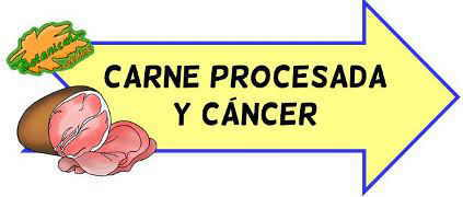 carne procesada y cancer