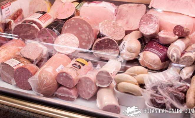 carne procesada fiambres tipos