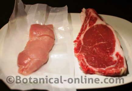 carne roja con especias