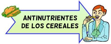 antinutrientes de los cereales