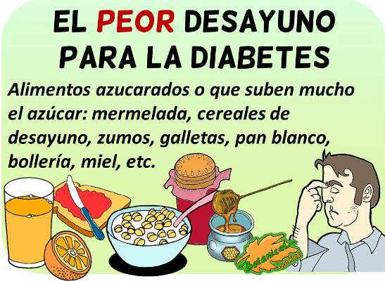 cereales desayuno para la diabetes