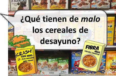 cereales desayuno valor nutricional