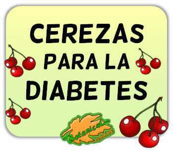cerezas diabetes