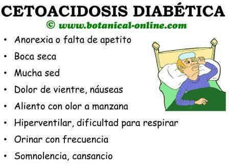 síntomas de cetoacidosis diabética