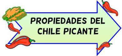 propiedades del chile picante