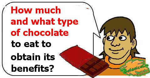 How much chocolate and what type