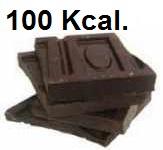 chocolate 100 kcal