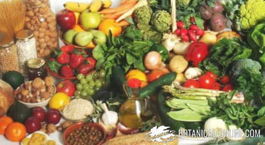 dieta con alimentos naturales