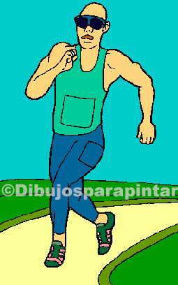 dibujo correr