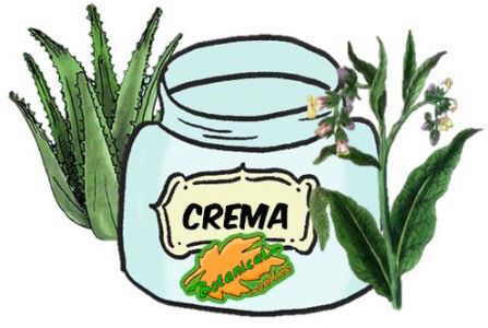 crema cosmetica natural consuelda