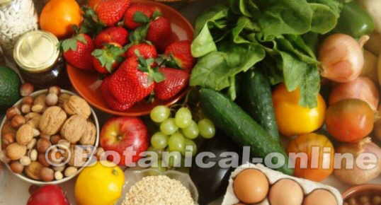 dieta color alimentos