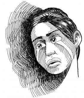 depresion dibujo