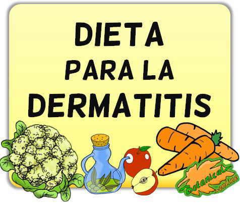 alimentacion dieta para la dermatitis