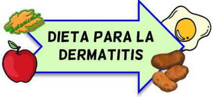 dieta dermatitis