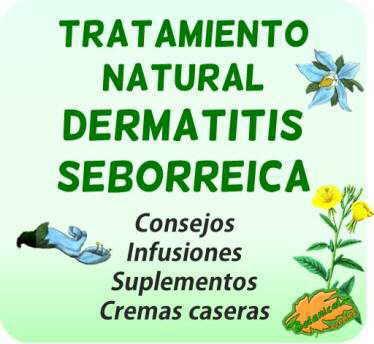 tratamiento natural dermatitis seborreica plantas medicinales remedios caseros