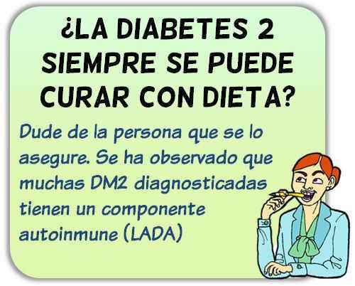 curar diabetes con dieta
