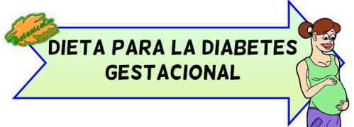 menu para mujeres embarazadas con diabetes gestacional
