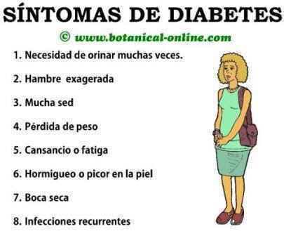 Síntomas de diabetes mellitus