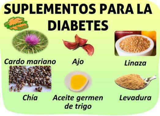 suplementos nutricionales diabetes