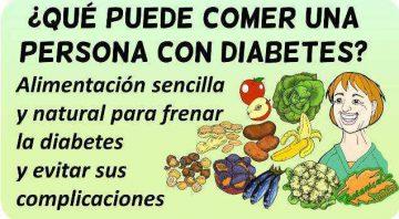 diabetes tipo 1 ejemplos de comidas de 7 días
