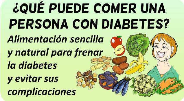 que puede comer persona con diabetes tipo 2