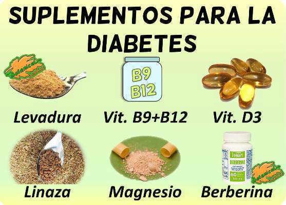 diabetes suplementos vitaminas minerales remedios naturales plantas medicinales fitoterapia