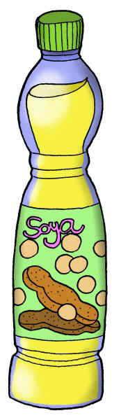 dibujo grande de aceite de soja