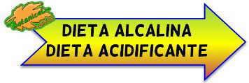 dieta alcalina o acidificante