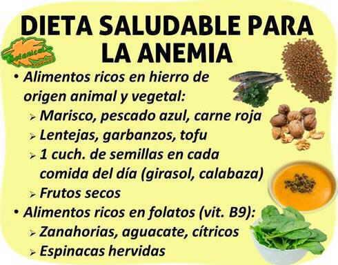 Alimentos para la anemia - Alimentos naturales ricos en calcio ...